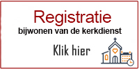 Registratie kerkdienst